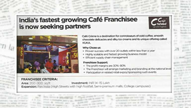Wings of expansion for Café Crème