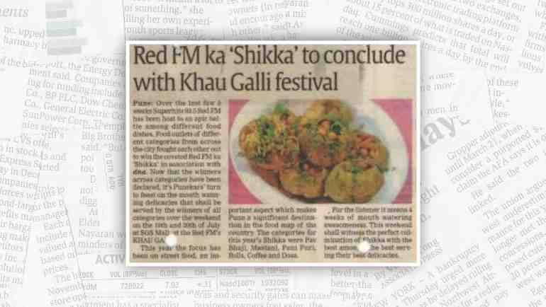 Red FM's approval on the taste of Kuka!