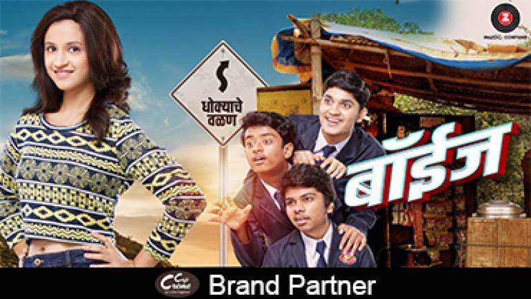 Brand Partner for Boyz Marathi Movie